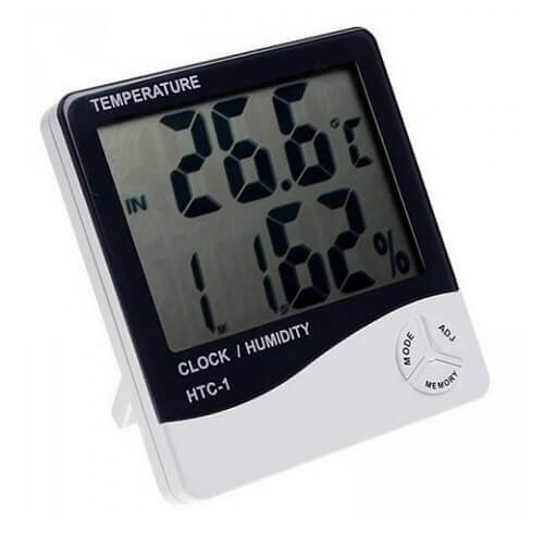 LCD Digital Temperature and Humidity Meter HTC-1