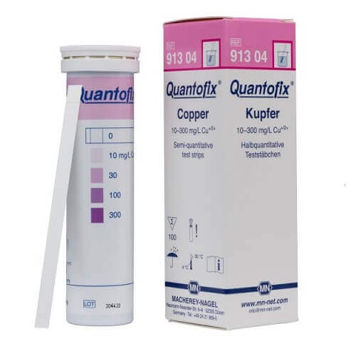 Quantofix Copper Test Strip 100 Times