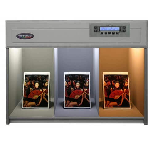VeriVide Color Assessment Cabinet CAC-60 4-Light 600mm
